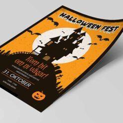 Halloween inbjudan