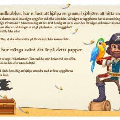 Pirat skattejagt til børnefødselsdagen