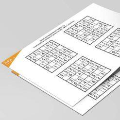Sudoku för barn - 6x6