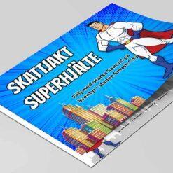 Superhjälte skattjakt från 6 år
